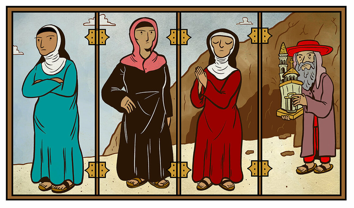 The Rebel Virgins and Desert Mothers Who Have Been Written Out of Christianity's Early History