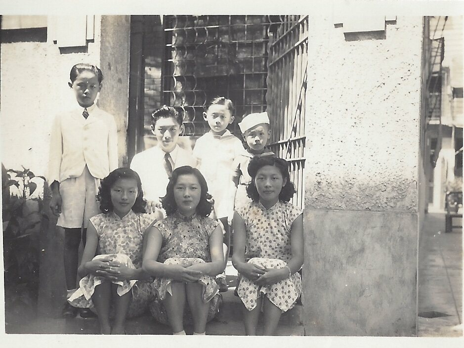 Hsi's grandfather and all his siblings.