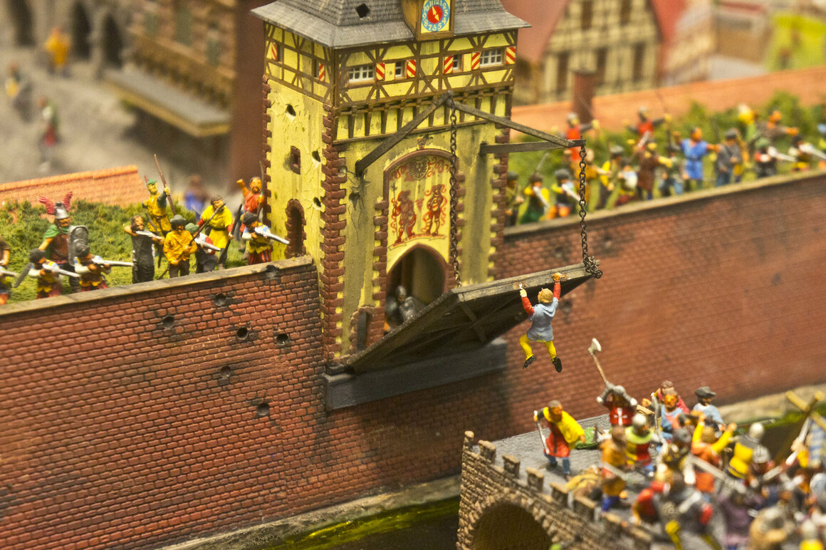 Camelot, the newest exhibit at Miniature World.
