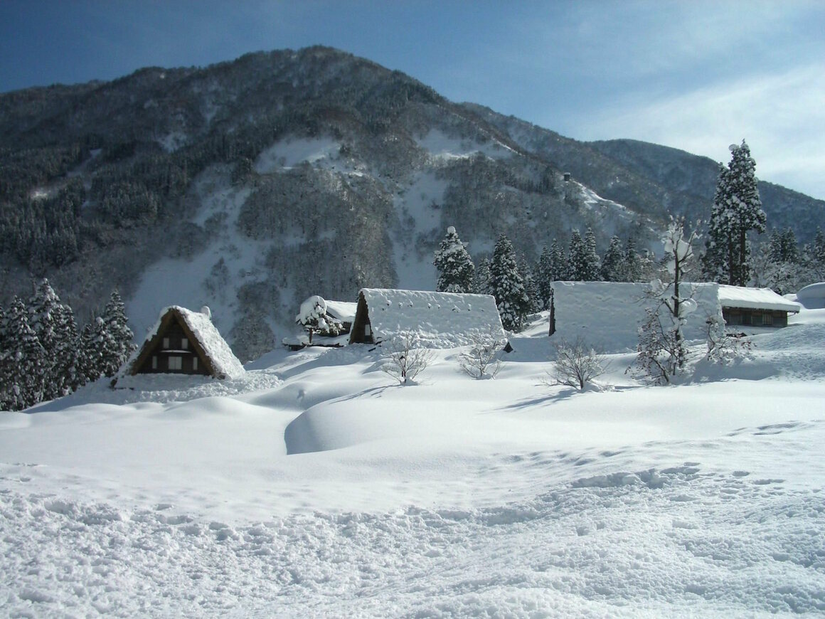 The village of Ainokura in Toyama prefecture.