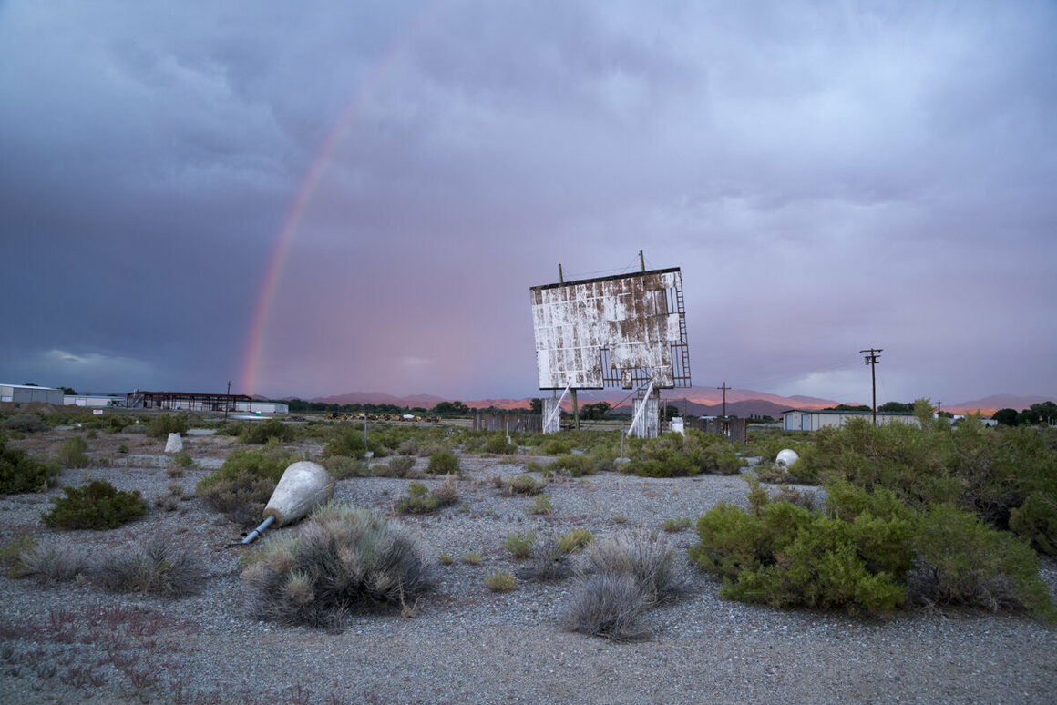 Sage Crest Drive-In, Yerington, Nevada.