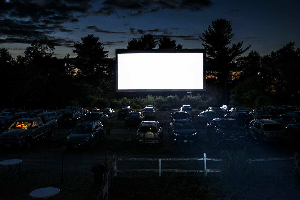 Saco Drive-In, Saco, Maine.