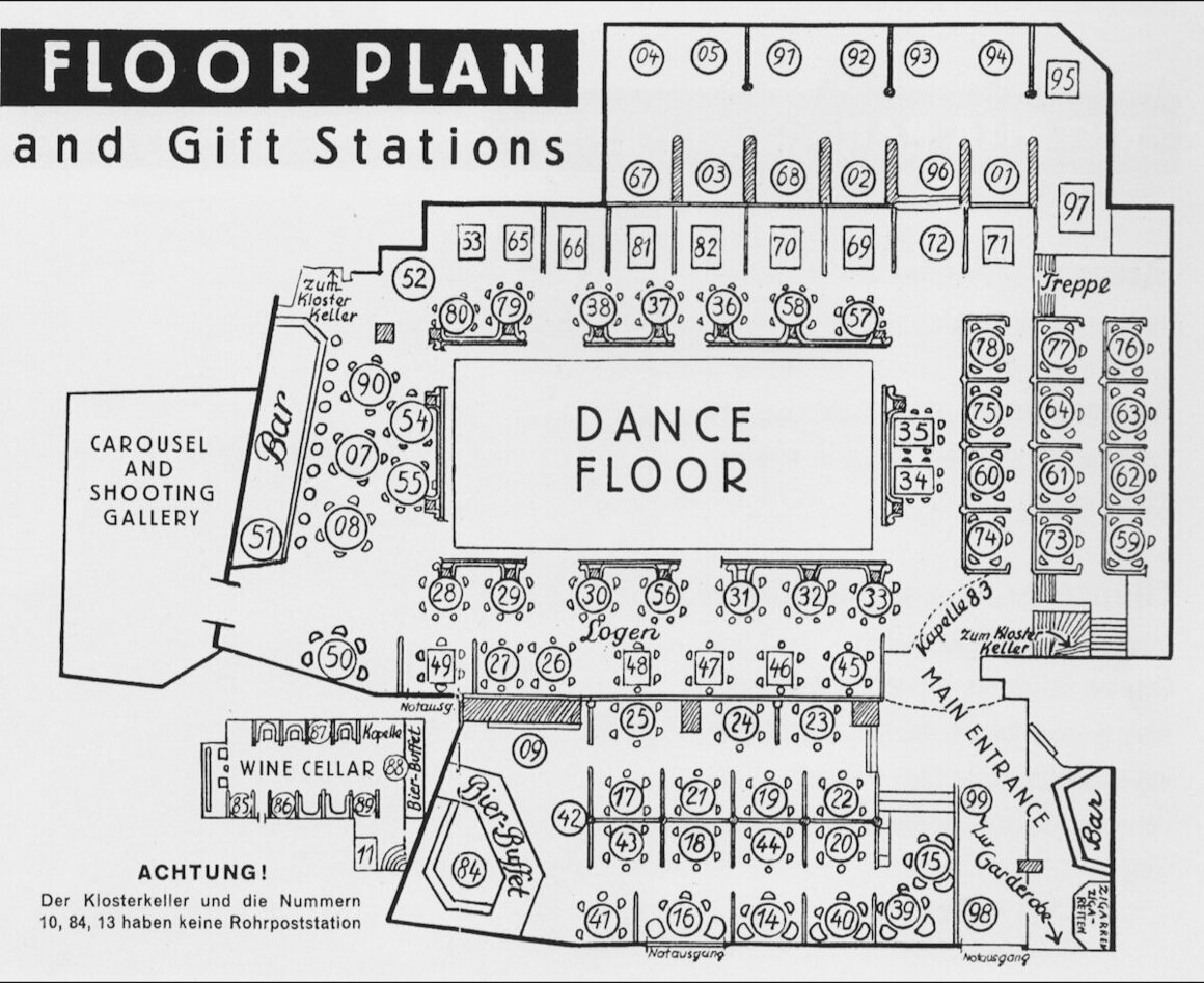 people in 1920s berlin nightclubs flirted via pneumatic tubes the resi floor plan