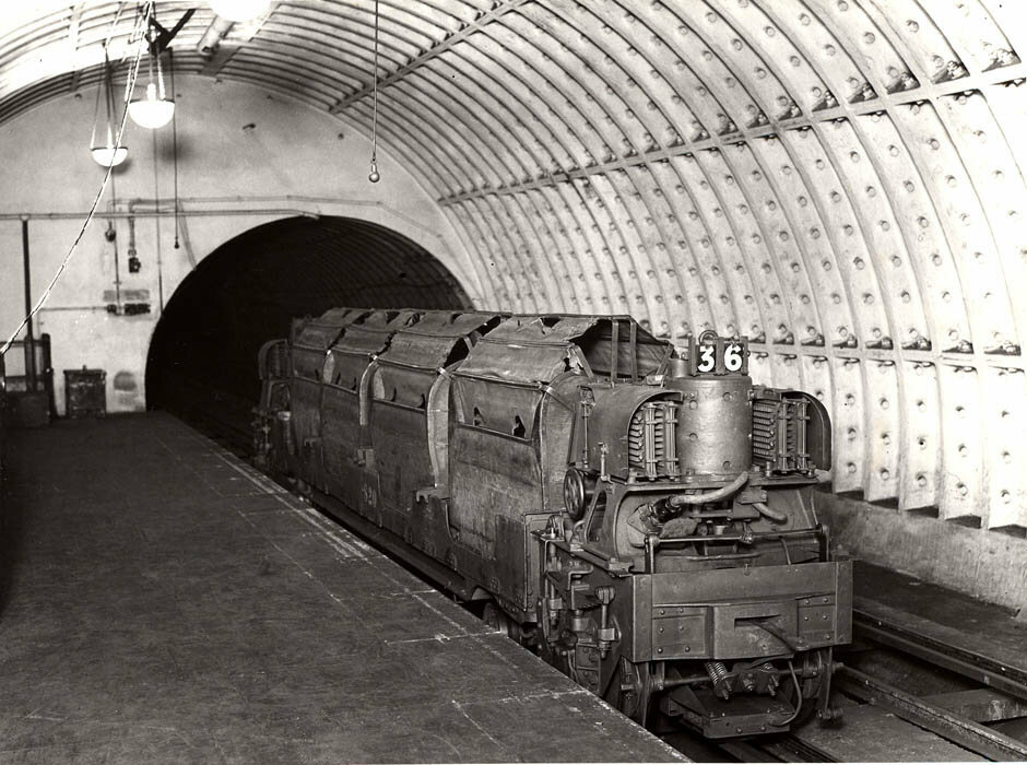The Mail Rail in 1935.