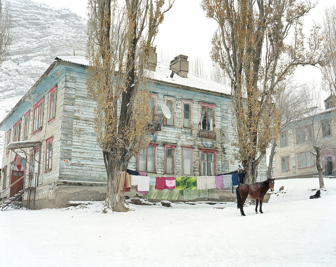 A house in Min Kush is a testament to the city's bygone prosperity.