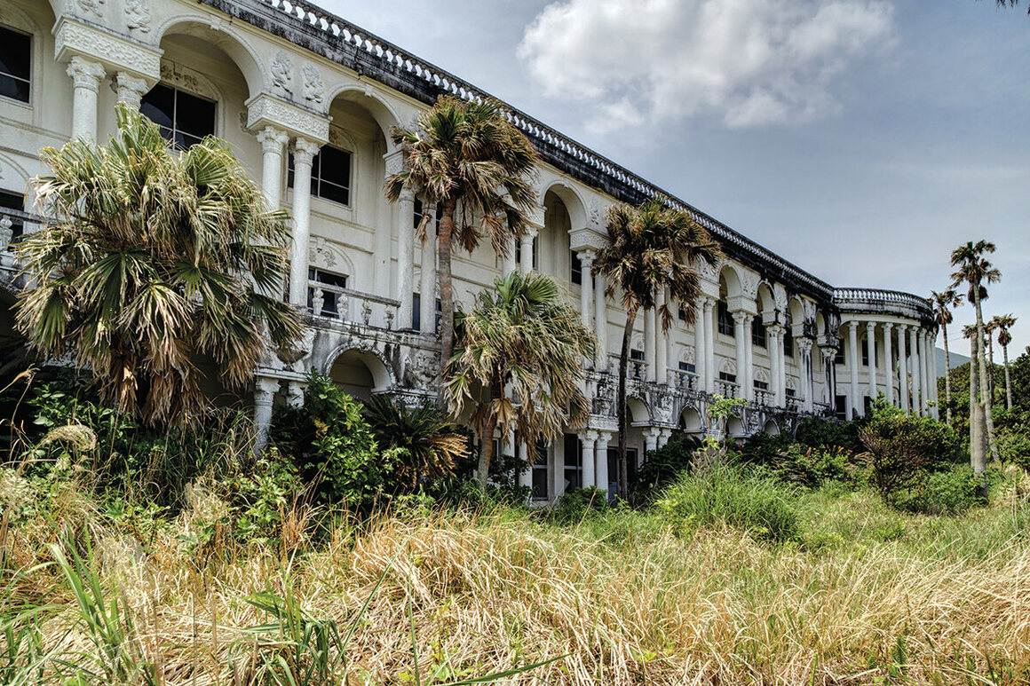The Royal Hotel abandoned resort Hachijo Island