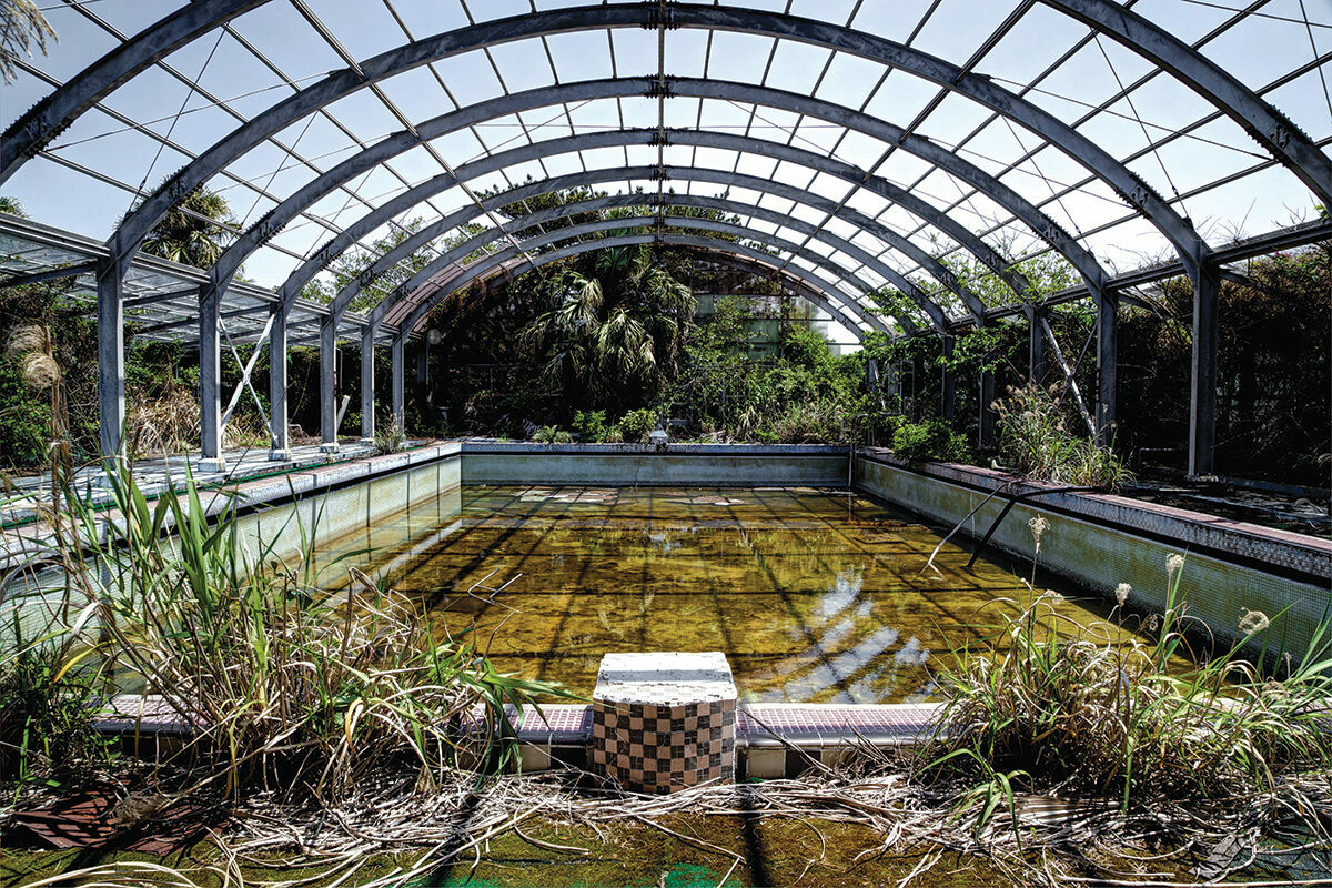 Japan's Abandoned Hotels Are Being Reclaimed by Nature