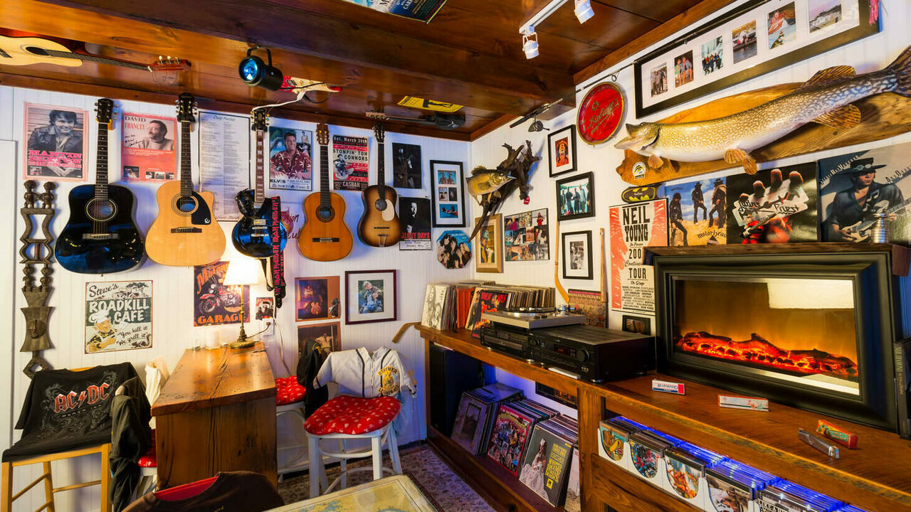Man Cave Pictures how man caves took over america's basements - atlas obscura