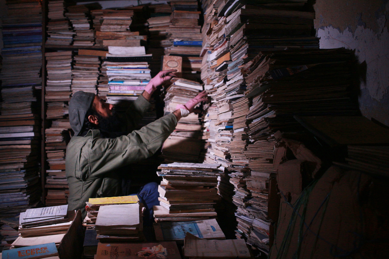A Jordan Bookseller's 24-Hour 'Emergency Room for the Mind'