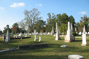 The Rose Hill Cemetery, where Queen Kelly Mitchell is buried.