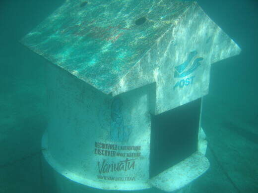 Underwater Post Office Vanuatu Atlas Obscura