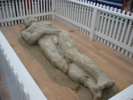the cardiff giant cooperstown new york atlas obscura. Black Bedroom Furniture Sets. Home Design Ideas