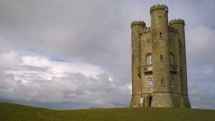 Broadway Tower And Nuclear Bunker Broadway England