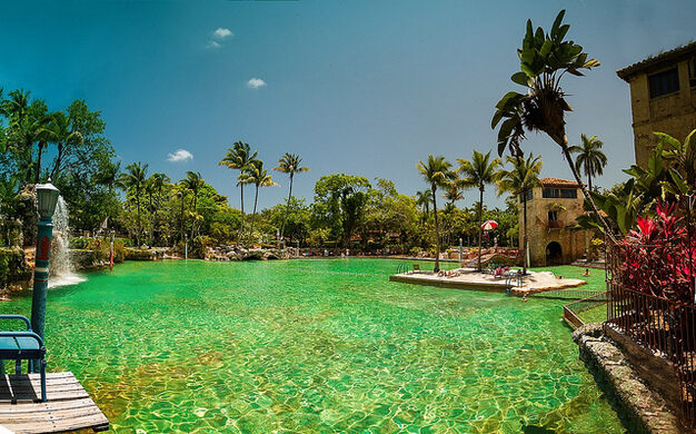 Venetian pool coral gables florida atlas obscura for Pool show coral gables