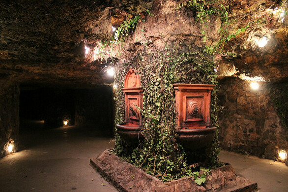 Labyrinth Of Buda Castle Budapest Hungary Atlas Obscura