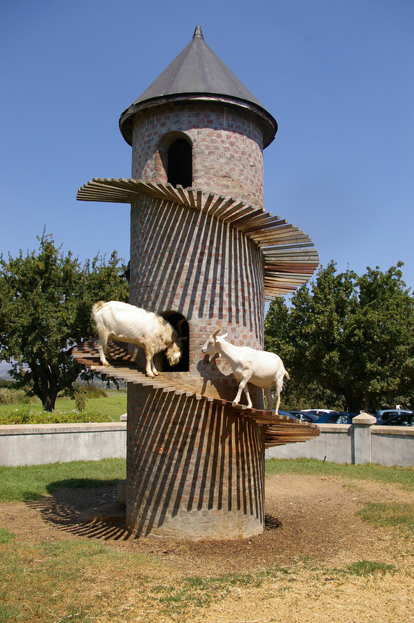 The Goat Tower Of Fairview Cheese Amp Wine Farm Paarl