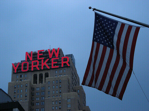 New Yorker Hotel New York New York Atlas Obscura - Famous new yorkers map of us