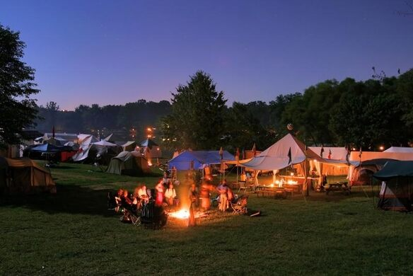 The Pennsic War At Coopers Lake Slippery Rock