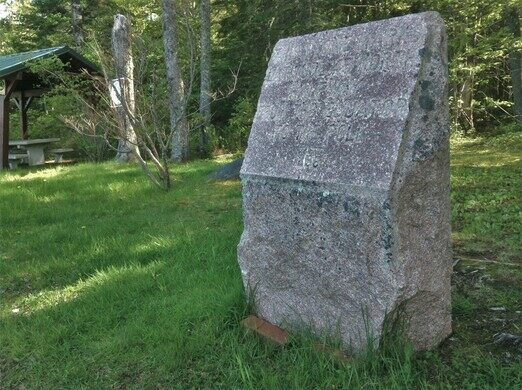 The Oldest Th Parallel Marker In The US Perry Maine Atlas - 45th parallel map us