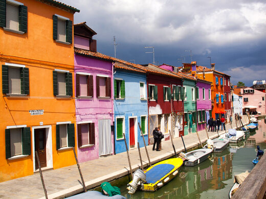 Houses Colors the mad colored houses of burano – venice, italy - atlas obscura