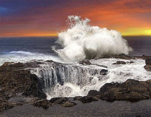 Thor39s Well  Yachats Oregon  Atlas Obscura