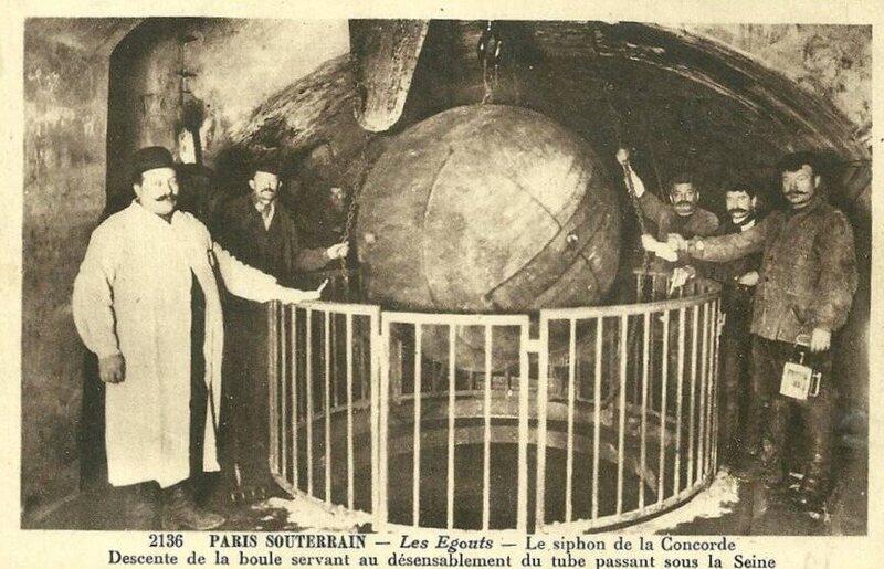 The 19th Century Iron Balls Still Cleaning The Paris