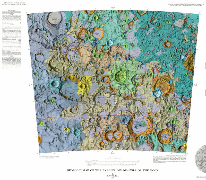 The Psychedelic Moon Maps Of The 1970s Atlas Obscura
