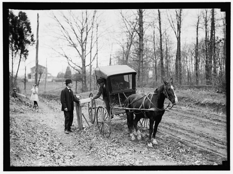 Rural Free Delivery in 1914