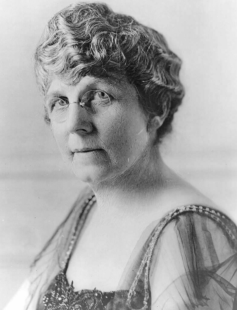 Florence Kling Harding, a shrewd campaigner. (Photo: Library of Congress)