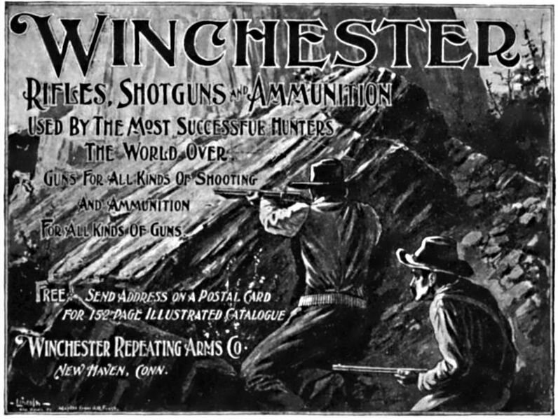 Winchester Repeating Arms Company advertisement, 1898