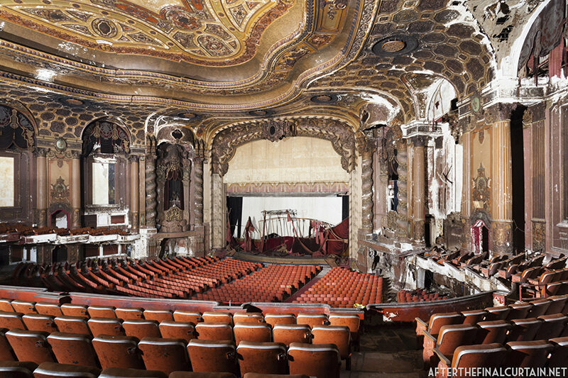 Photos Of Majestic Theaters Turned To Ruin Atlas Obscura