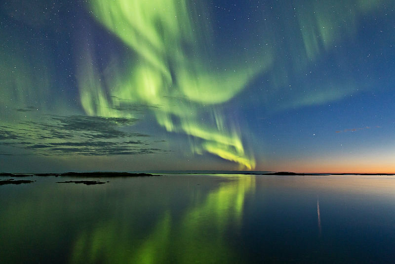 Aurora from Andoya island, Norway