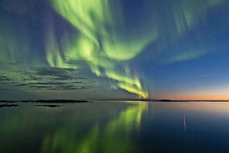 Aurora from Andoya island, Norway