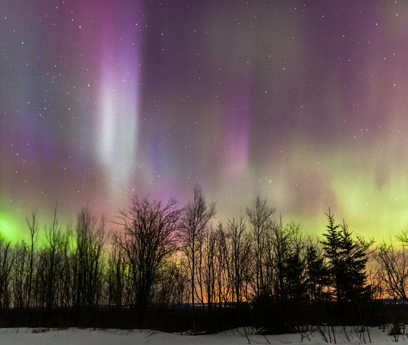 Northern Lights from Finland