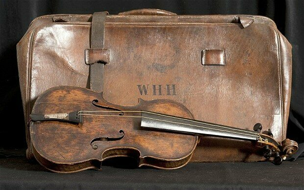 The Violin That Serenaded the Doomed Titanic Voyagers Arrives in the US