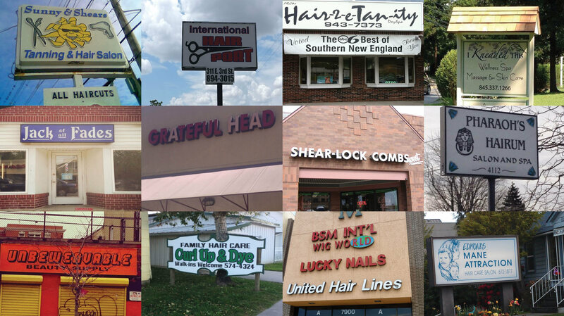 Hair They Are, the Punniest Salon Names in America - Atlas Obscura