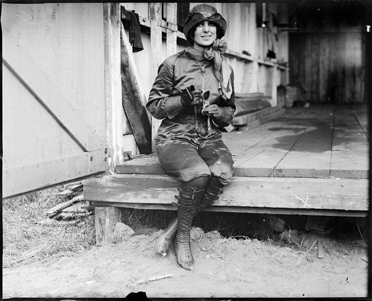 Miss Harriet Quimby, 1911