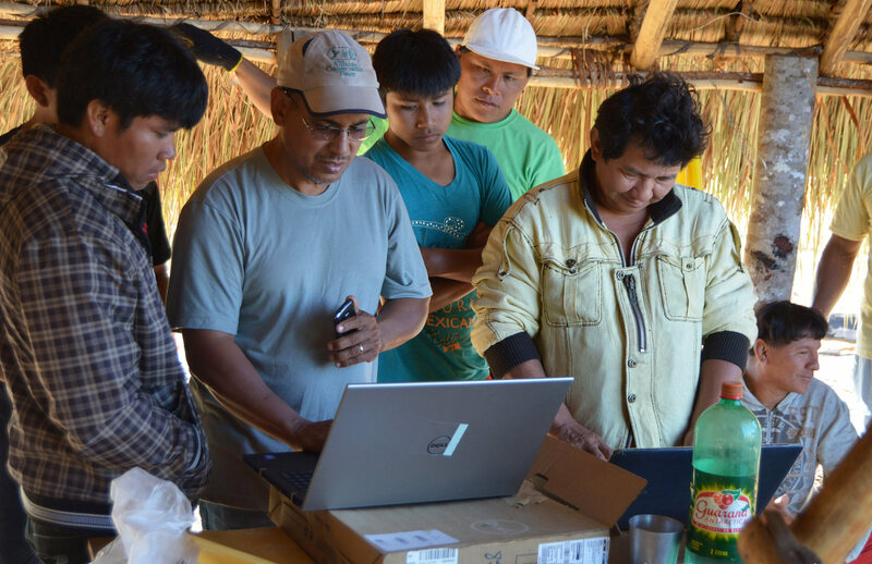 ACT SynBio Ululupuene Project Coordinator Joao Carlos Nunes Batista Shows Villagers How You Can