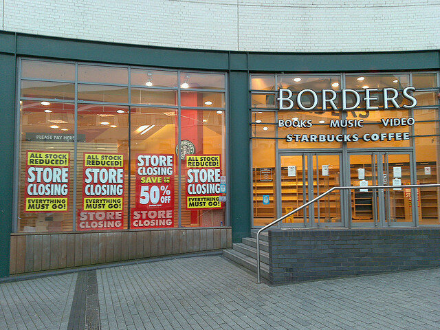 Borders closing in Birmingham