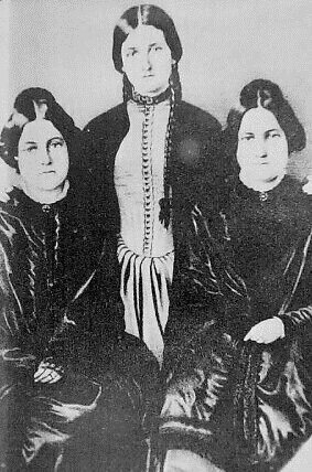 Margaret, Kate and Leah Fox.
