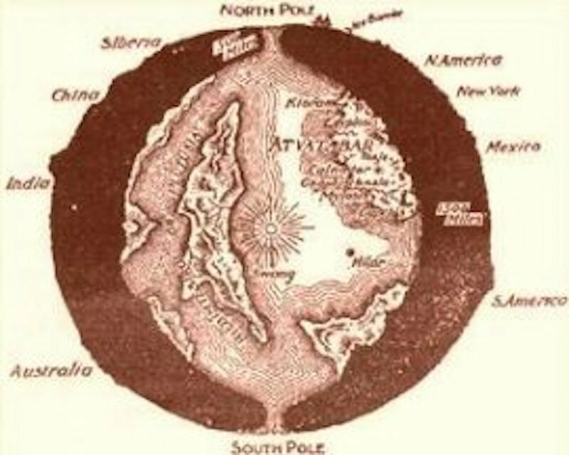 The Hollow Earth Is Filled With Giants Germans And A Little Sun