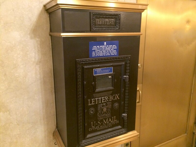 New York City's Mail Chutes Are Lovely, Ingenious, and