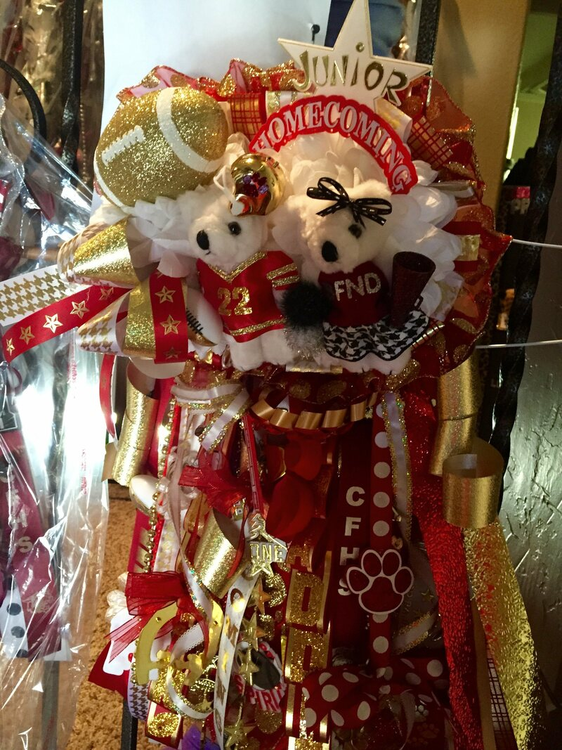 Christmas Homecoming Mum.Exploring The Over The Top Texas Tradition Of Homecoming