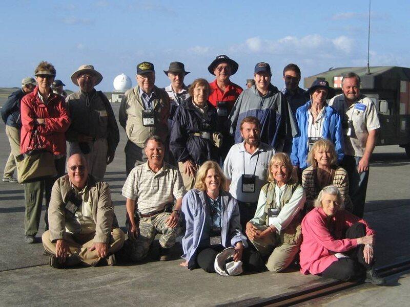 TCC group visiting Iwo Jima in 2007.