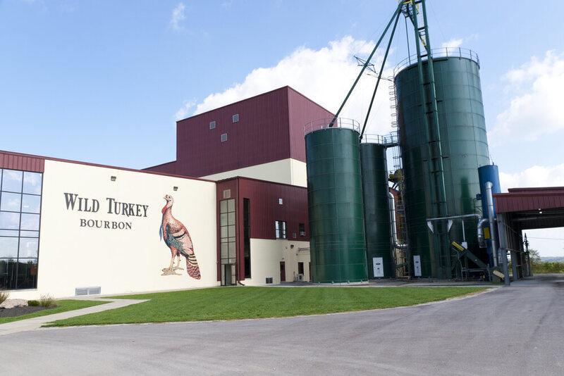 Wild Turkey Bourbon Distillery at Lawrenceburg, KY