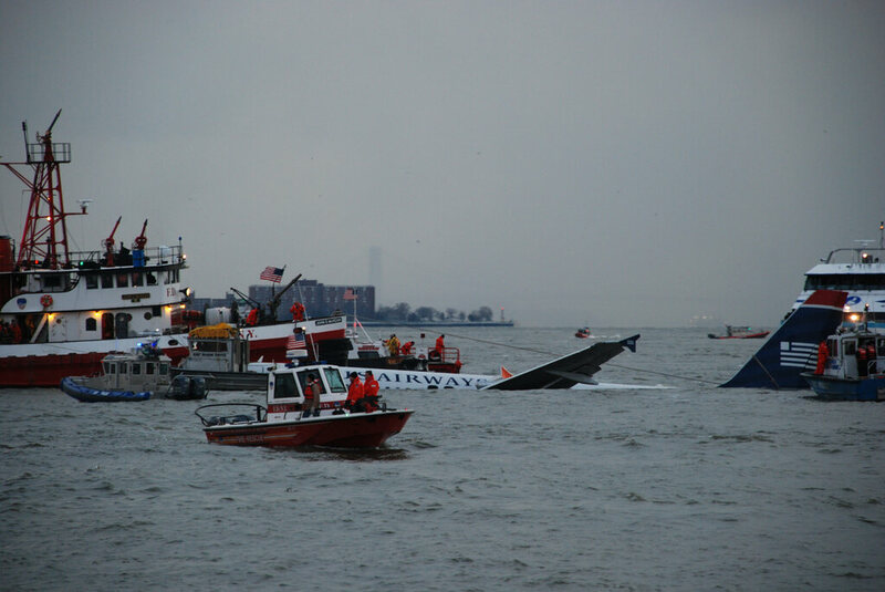"The crash that caused the ""Miracle on the Hudson"" was itself caused by a flock of geese."
