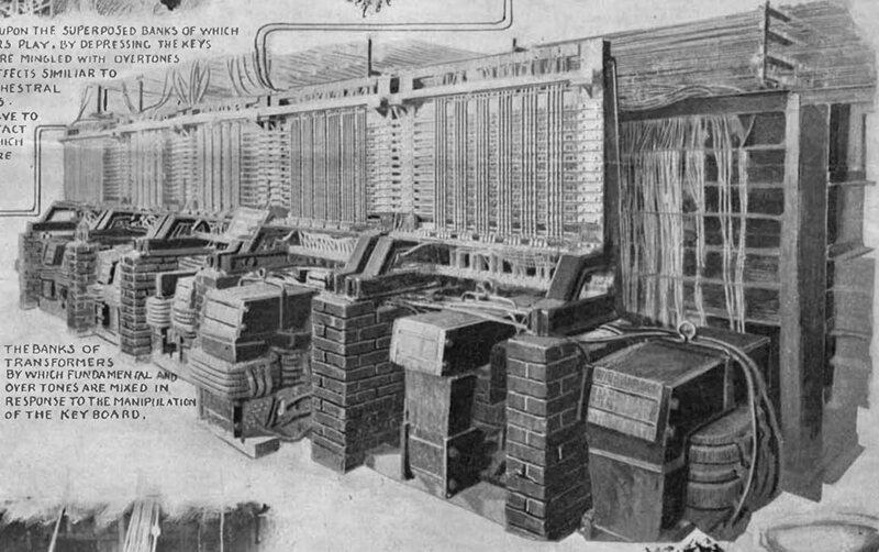 The Telharmonium Was the Spotify of 1906 - Atlas Obscura