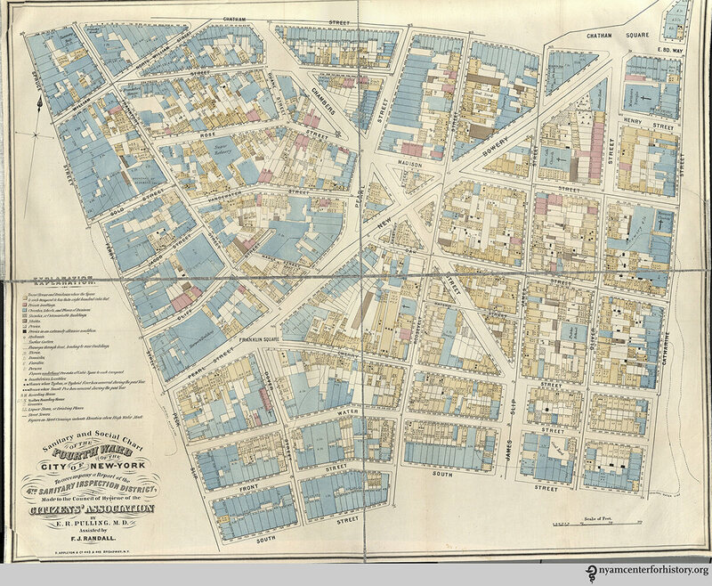 Maps of 19th-Century New York's Worst Nuisances - Atlas Obscura