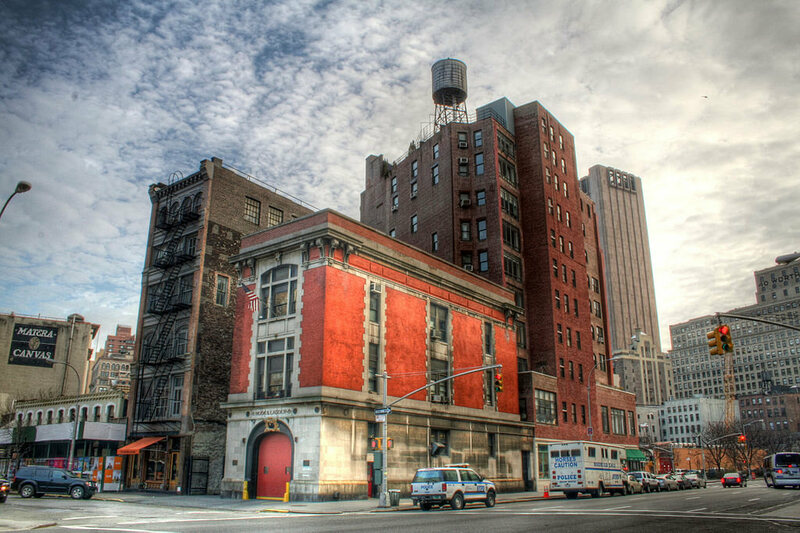The Ghostbusters Firehouse Or Hook And Ladder 8 (Photo: Philip  Ritz/Wikipedia)