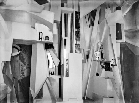 Cathedral of Erotic Misery or Merzbau by Kurt Schwitters